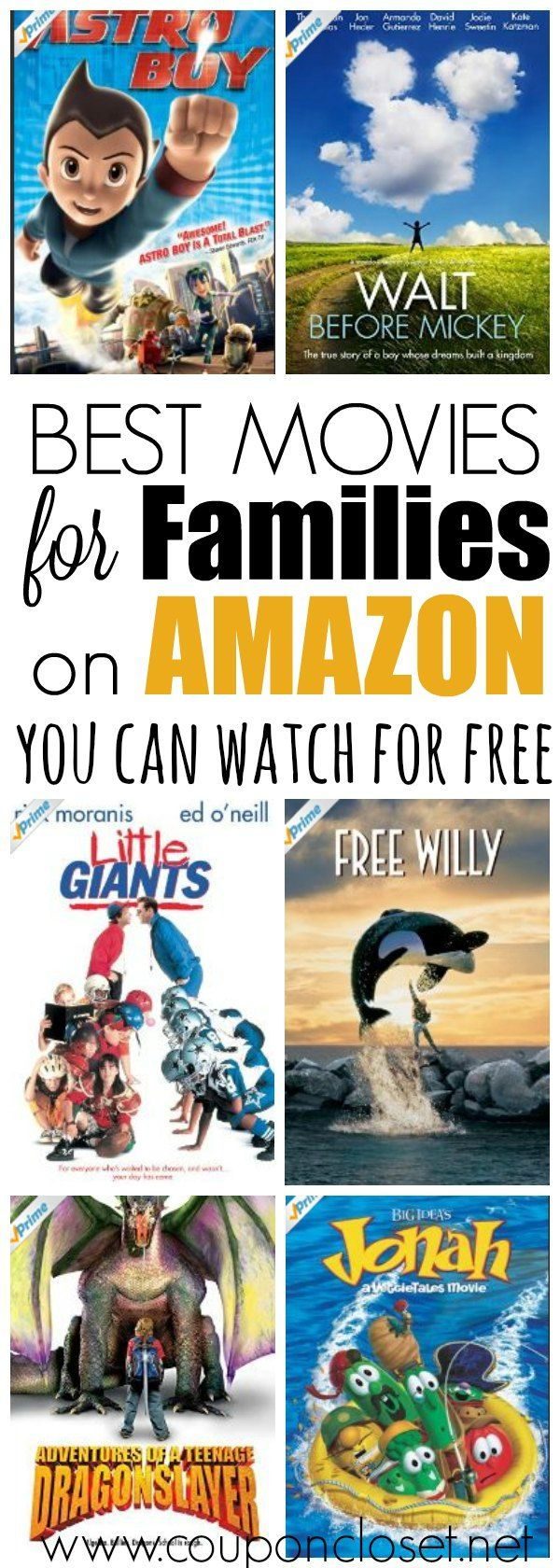 Did you know that there a huge selection of movies that you can actually watch for free? Here are the best free amazon prime movies for families.