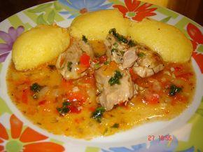 Reteta culinara Pui cu usturoi din categoria Pui. Specific Romania. Cum sa faci Pui cu usturoi