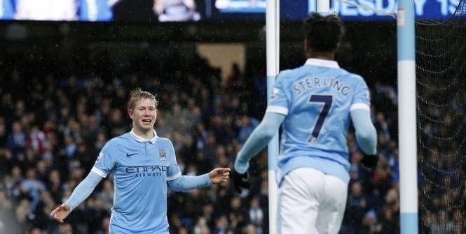 Foot - ANG - City - Manchester City : Raheem Sterling compare Kevin De Bruyne à Luis Suarez