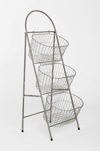 Ladder Storage Basket - Urban Outfitters toy storage