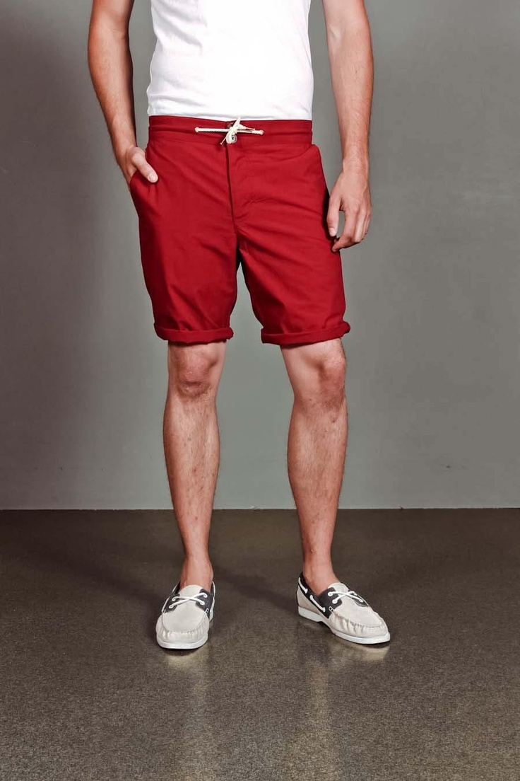 Great Beach Shorts: Contemporary Men, Beaches Shorts, Red Beaches, Goodall Beaches, Daily Sales, Men Fashion, Goodall Joining, Joining Jackthread, Men Casual