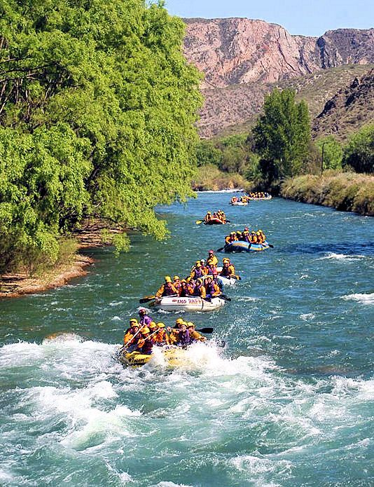 Go on a rafting adventure in Mendoza, Argentina!
