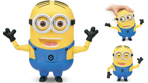 """SPECIAL FEATURE  MINION DAVE - TALKING ACTION FIGURE (8"""")"""