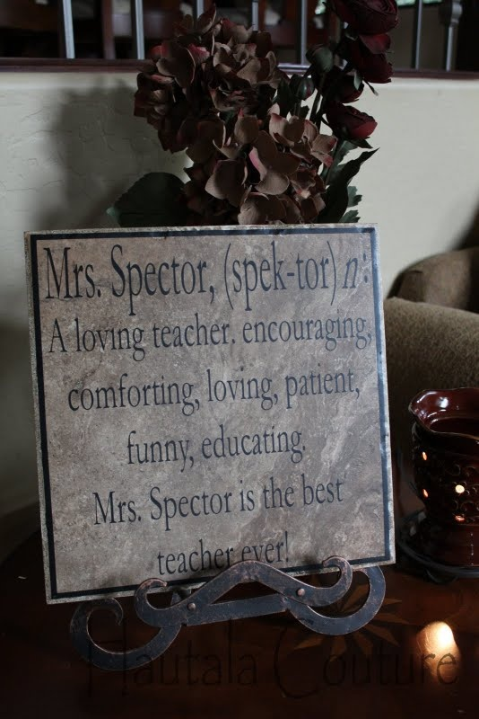 Great end of the year gift idea for teachers