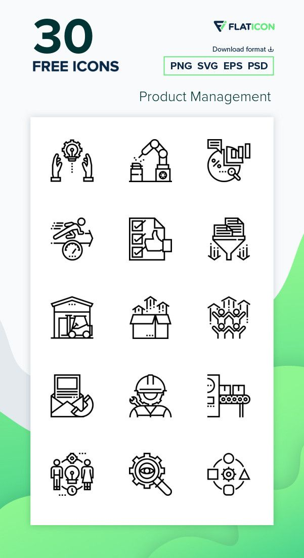 30 Free Vector Icons Of Product Management Designed By Eucalyp Vector Icons Vector Free Free Icon Packs