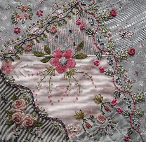 crazy quilting, love this!!