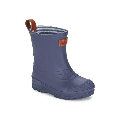 Topánky Deti Čižmy do dažďa Kavat GRYTGÖL Modrá