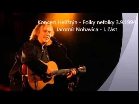 Jaromír Nohavica - (nejdelší koncert) Helfštýn - Folky nefolky 3.9.1994 - I. část - YouTube