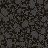 Graham & Brown Barbara Hulanicki Midnight Skulls Wallpaper | Departments | DIY at B&Q