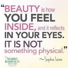 Every single person should understand that they're beautiful/handsome in their own way. Anything physical or superficial shouldn't matter to the humans' eyes.