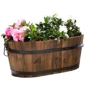 Planter Barrel - Oval