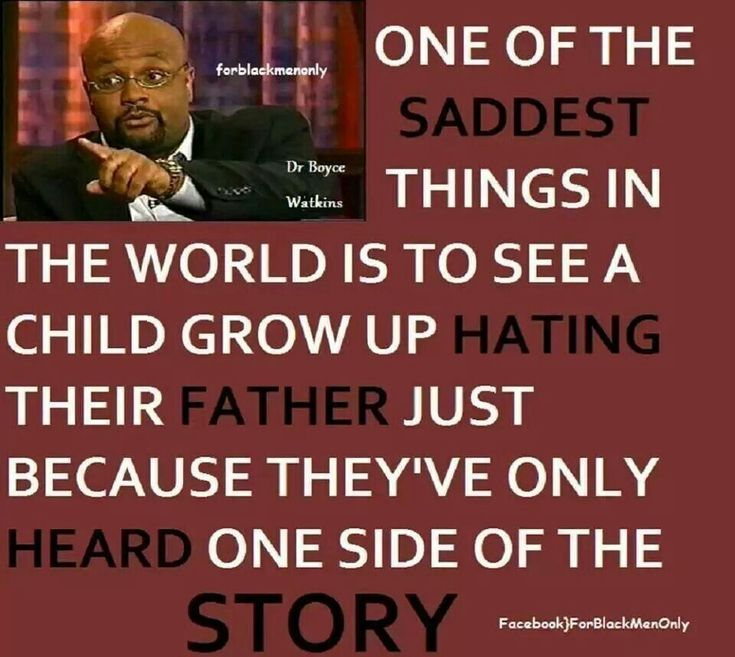 One of the saddest things in the world is to see a child grow up hating one of their parents because they have only heard one side of the story and been brainwashed - because the domacillory parent hated the other parent more than they loved their child. Pure Hate, Control, Lies and Manipulation.