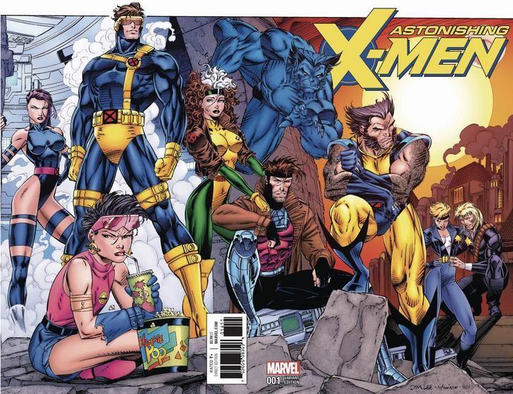 Astonishing X Men 001 2017 Covers Xmen Comics Comics Jim Lee Art
