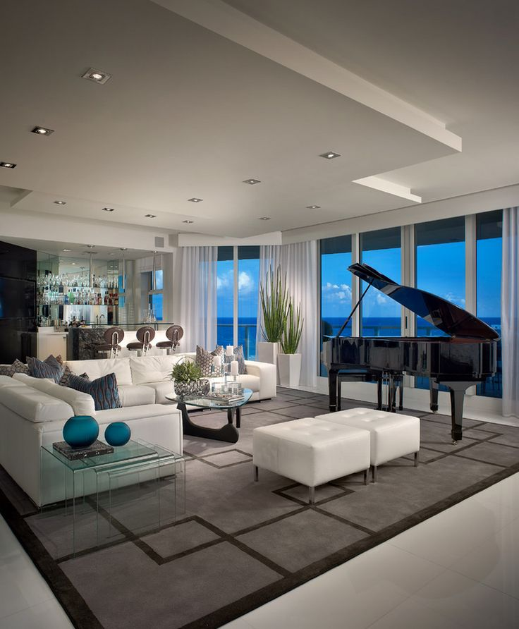 Modern Living Room Design: 25+ Best Ideas About Piano Living Rooms On Pinterest