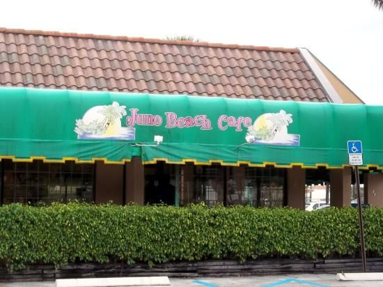 Juno Beach Cafe, Juno Beach  THE best place for breakfast!