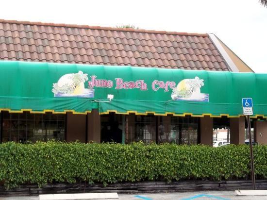 Juno Beach Cafe Breakfast Menu