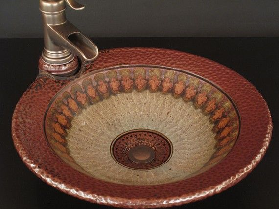 Pottery sink...Gordon Batson  (bought THREE !!)