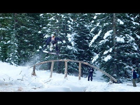 Early Season At Brighton Resort With Mike Ravelson And Parker Szumowski - Volcom #Volcom #ボルコム #Snowboarding