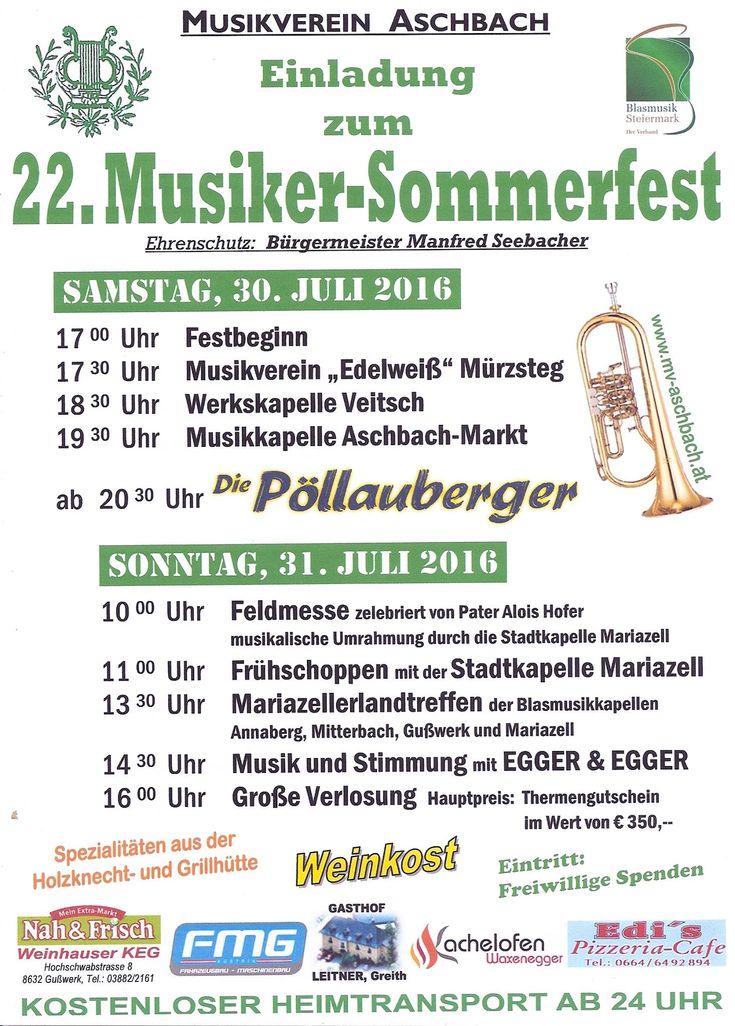 Sommerfest Aschbach