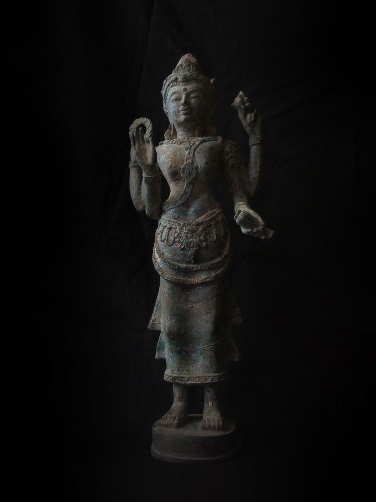 "Goddess ""Tara"" Bodhisattva, Srivijaya Art"