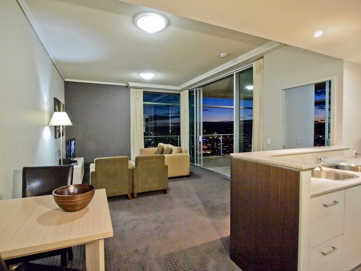 oaks casino 2 bed riverview living out night