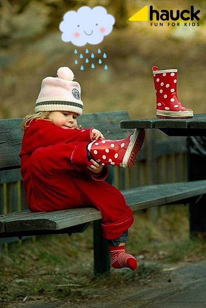 Rainy Days...!! #rain #baby #Hauck #HauckFunForKidsGreece
