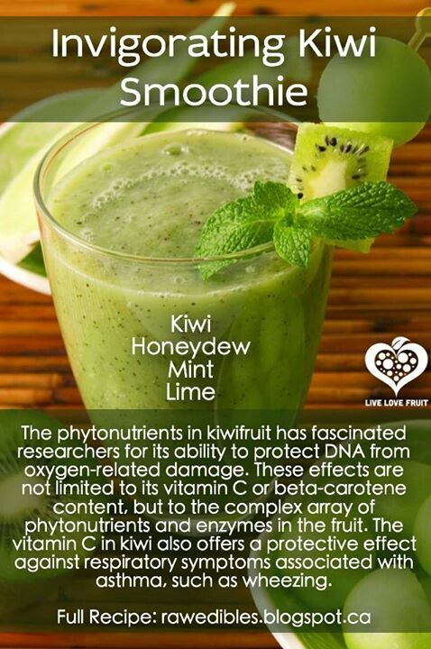 ... detox drinks drank juices free recipes ninja kiwi honeydew mint lime