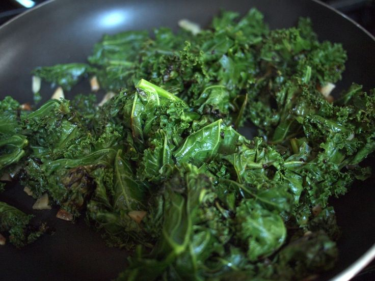 Kale sauteed in coconut oil with a little garlic and salt is my favorite veggie side dish, for everything from scrambled eggs to salmon filets. I can eat buckets of the stuff.  Big benefit of coconut oil is that it's shelf-stable!    I mostly pinned this here for the picture... haven't actually made the recipes on this page.