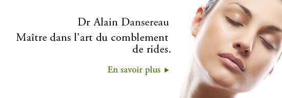 Dr Alain Dansereau, dermatologue à Repentigny & Montréal | Botox pour traitement des rides et gonfler les lèvres.