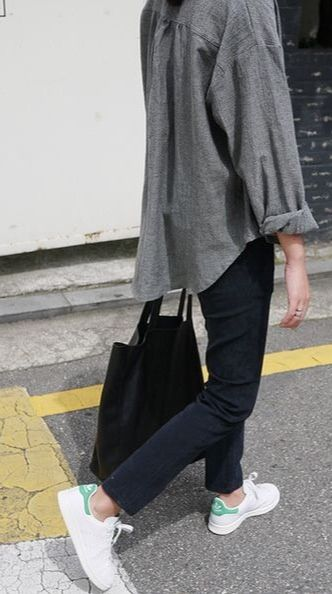 Grey black + sneakers