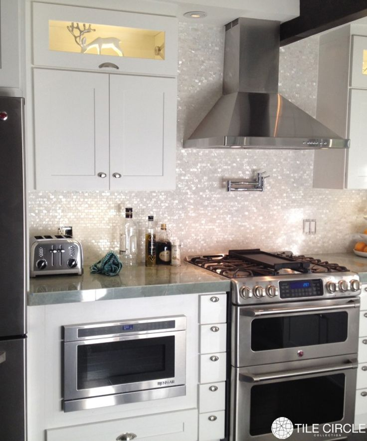 Best Sheen Of Paint For Kitchen Cabinets: Best 25+ Mother Of Pearl Backsplash Ideas On Pinterest