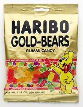 Haribo....the last thing I needed to see today (3 weeks into sugar detox!) these are my favorite guilty pleasure. The best tasting, chewiest gummies ever!