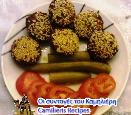 Φαλάφελ فلافل Τα Φαλάφελ (ρεβυθοκεφτέδες) είναι από τα πιο διαδεδομένα φαγητά στην Μέση Ανατολή. Τρώγονται  μόνα τους , σαν συνοδευτικά στα κυρίως γεύματα.