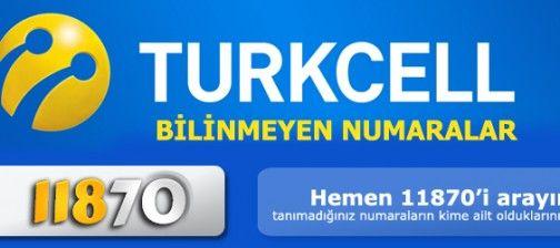 Turkcell bilinmeyen numaralar nasıl sorgulanır ?