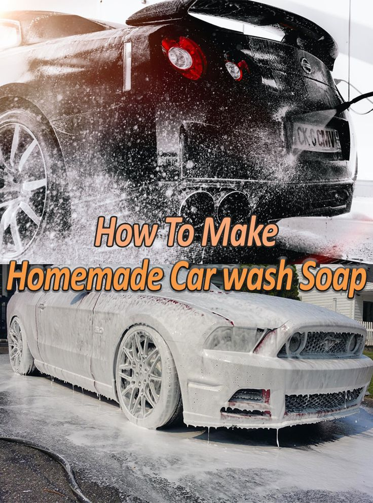 How to Make Homemade Car Wash Soap in 2020 Car wash soap