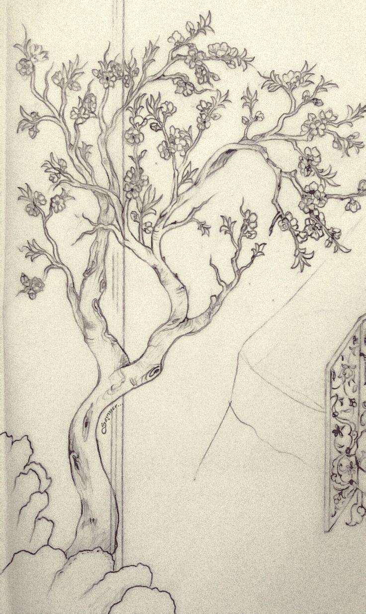 Minyatürde ağaç motifleri.. H.Olcay Sayıner