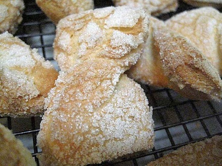 Recipe for Light and Airy Jewish Bow Tie Cookies (Egg Kichel)