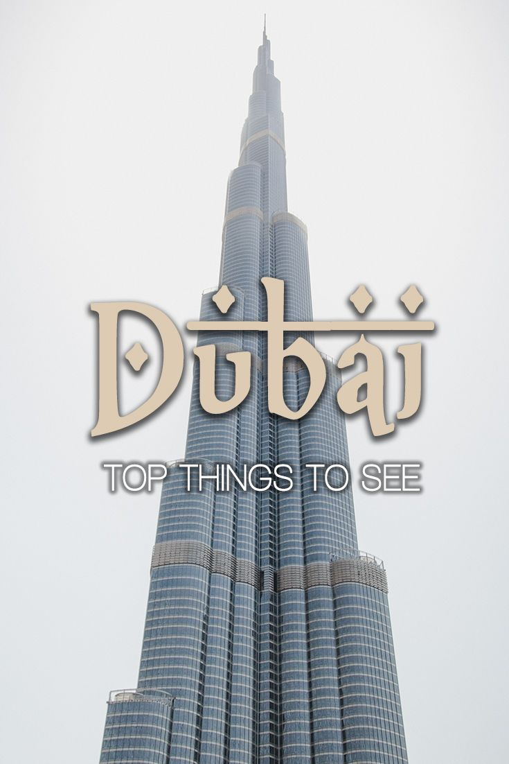 Top Dubai tourist places - our guide with practical hints. How to plan your stopover or longer holidays in Dubai?