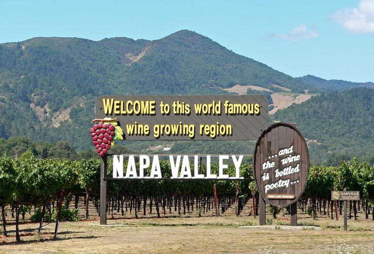 My hometown!! 8-) Napa Valley, California