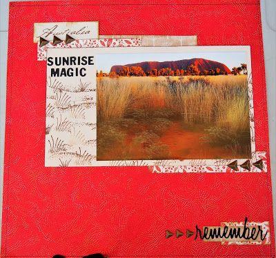 Ulura Sunrise magic.