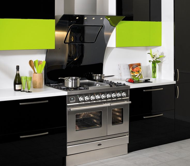 21 Sleek And Modern Metal Kitchen Designs: 17 Best Images About Free Standing Range Hoods On