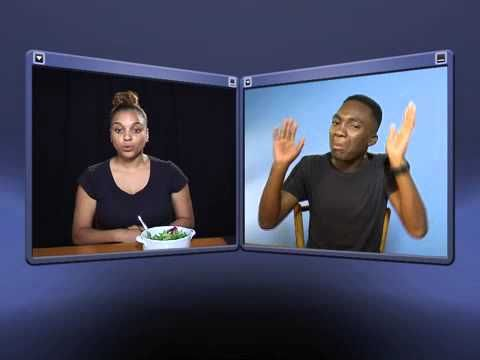DTV South African Sign Language Lessons - Vegetables (Conversation)