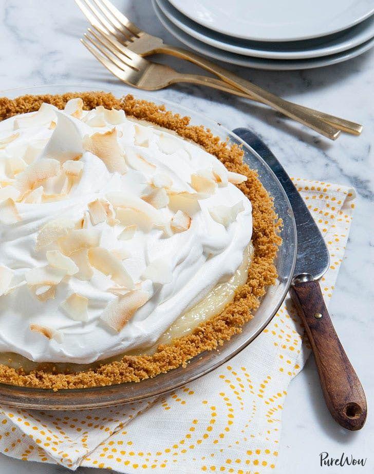 Coconut cream pie. Get the recipe.
