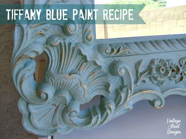 Tiffany Blue Paint Recipe