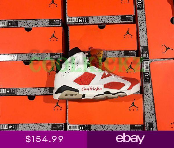 d3f455268a0f32 SHIP NOW Nike Air Jordan 6 VI Gatorade Like Mike 4Y-13 White Orange 384664-145