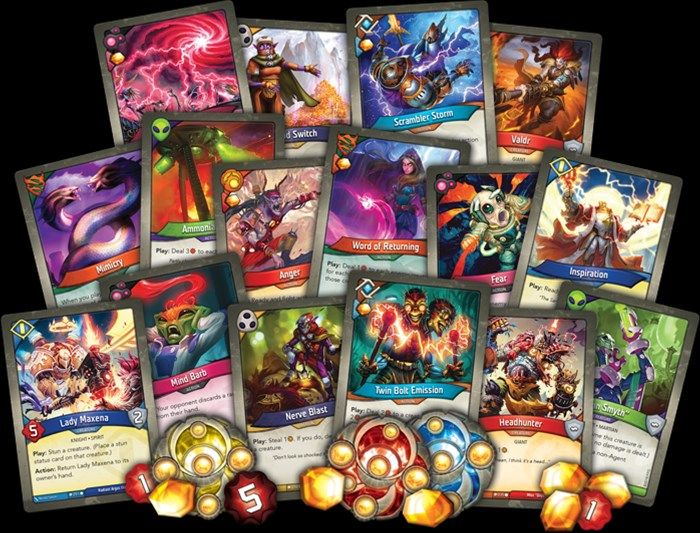 Pin By Wiktor Strachota On Keyforge Fantasy Settings Gaming Products