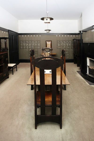 128 best images about charles rennie mackintosh on for Dining room 78 derngate