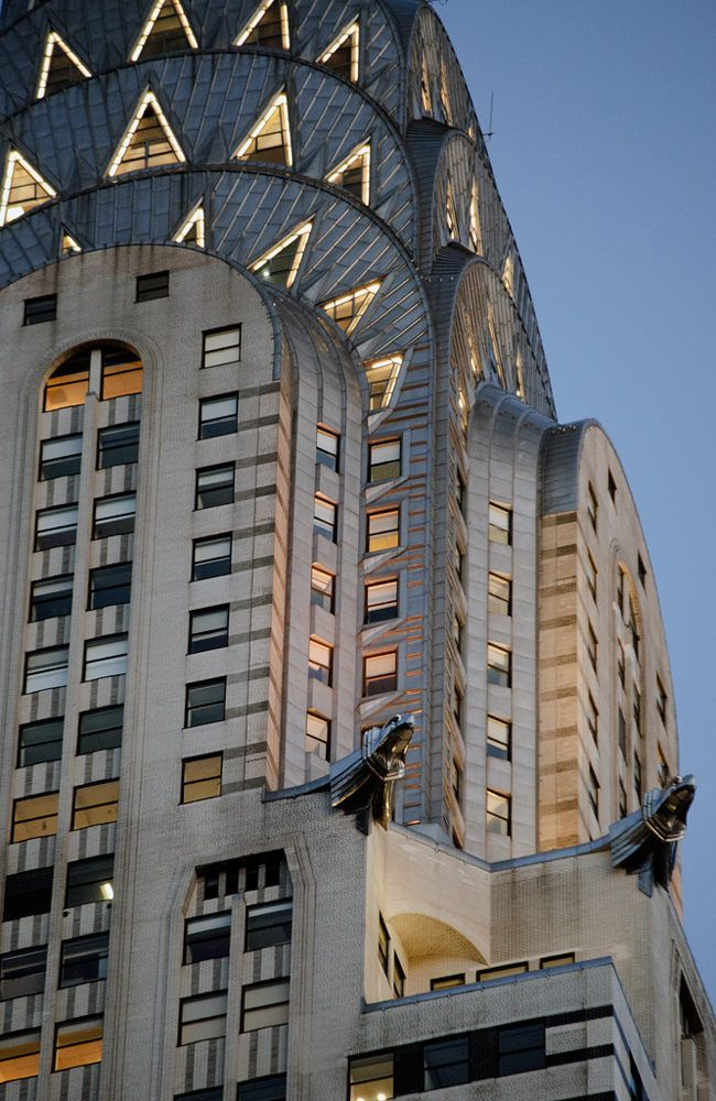 Chrysler Building Chrysler Building Art Deco Photography Art
