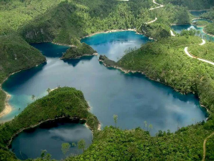 Lagunas de Monte Bello. Chiapas, México.