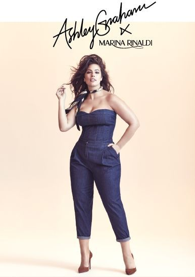1fdbab0104829 Ashley Graham   Marina Rinaldi Debut Their Spring 2018 Denim Collection